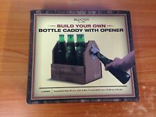 Brand New Build Your Own Bottle Caddy With Opener