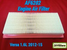 AF6202 Engine Air Filter for 2012 - 2015 Versa Versa Note 1.6L Engine