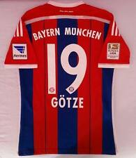 GOETZE ADIZERO BAYERN MUNCHEN GERMANY 2014 2015 AS MATCH WORN ISSUE BUNDES GOTZE
