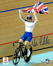 Victoria PENDLETON Signed Autograph Olympic Games Official Photo B COA AFTAL
