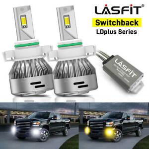 Switchback 5202 LED Fog Light Conversion Kit for GMC Sierra 1500 2500 3500 HD