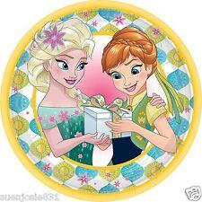 Disney Frozen Fever Dessert Plates 8pcs Party Supplies Tableware
