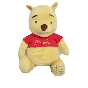 "Disney Large Winnie The Pooh Bear Celebrating 80 Years Of Friendship Plush 24"""