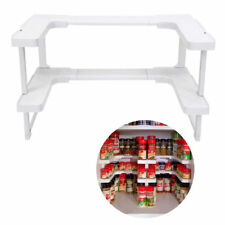Spice Shelf Jar Spicy Rack Racks Stackable Organizer Kitchen Storage Cupboard