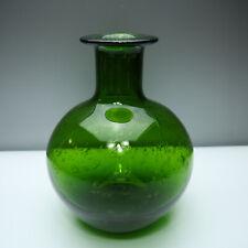 Kunstglas Flaschen Vase entw Zbigniew HORBOWY 1971 Glaskünstler Industrie Design