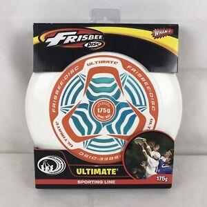 Wham-O Ultimate Frisbee Sports Disc 175 Gram Brand New In Box