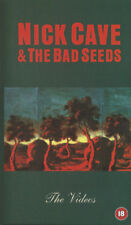 NICK CAVE & THE BAD SEEDS The Videos VHS (1998 Mute)