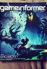 GAME INFORMER MAGAZINE Back issue  # 199 Epic Mickey
