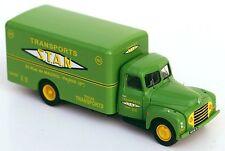 "Citroen 55 camion fourgon 1953 ""S.T.A.N."" (France) - Route 87 - Echelle 1/87 Ho"
