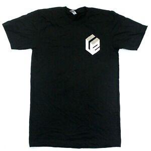 U2 Cube Logo Tee - American Apparel - Black - S
