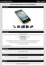 Ebay listing template , HTML 5 Template, eBay Auction Template, beautiful one
