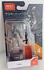 Mega Construx Terminator Genisys T-800 16pcs MCX Heroes Series 4 Micro Figure