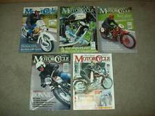 5 THE CLASSIC MOTORCYCLE MAG 1994/95 british TRIUMPH HARLEY norton V-TWIN