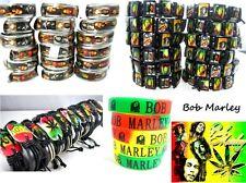 new 35pcs mixed lot Bob Marley Rasta Reggae Jamaica rings wristbands bracelets