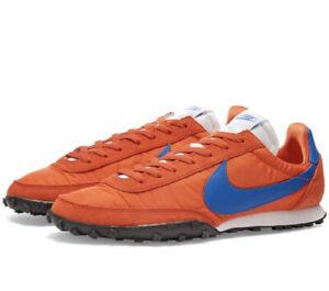 Nike Waffle Racer Classic Retro Trainers Team Orange Mens Size UK 8 EUR 42.5