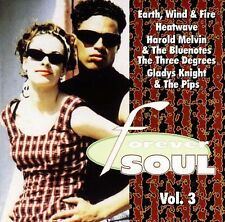 1 Cent CD FOREVER SOUL vol 3 EARTH, WIND & FIRE GLADYS KNIGHT HEATWAVE r&b soul