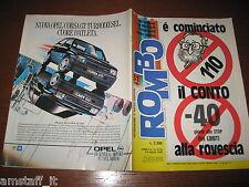 RIVISTA ROMBO 1988/31=AUTOSOLARE=ALFA ROMEO 75 TURBO CIVT=MAURO NESTI=