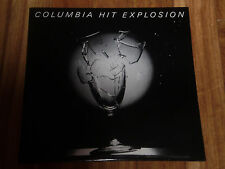 Columbia Hit Explosion,  1987 Promo Gatefold  1980's rock comp  n. mint  g3088.