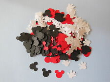 Over 200 Confetti,Mickey Mouse Heads & gloves, birthday party decorations,