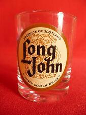 Long John Blended Finest Scotch Whisky Shot Glass