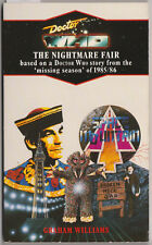RARE: Doctor Who - The Nightmare Fair. GC++ Virgin blue spine edn. Target Books.