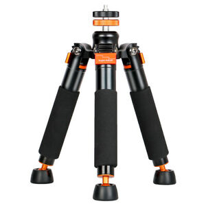 """A3 Tabletop Mini Tripod with 1/4 and 3/8"""" Screw Mount, Universal Monopod Base"""