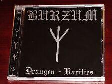 1Burzum1: Draugen Rarities CD / DVD DualDisc 2005 Back On Black UK BOB037CD NEW