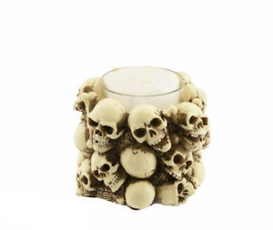 Candelabro Testata Da Morto Teschio Promo Resina 5897 GAR10