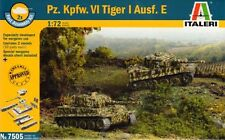 ITALERI 7505-Pz. KPFW. VI Tiger I Ausf. e 1:72 plastica KIT (RIEVOCAZIONE)