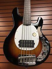 Sterling Musicman  Ray 25 5 String  Bass Guitar Sunburst Gloss
