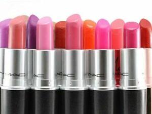 M.A.C MAC Retro Matte Frost Lustre Amplified Lipstick Choose Shades 3g/0.1 US Oz