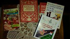 Vtg Betty Crocker Picture Cookbook 1950 1st Edition 4th Printing  W/BONUS BOOKS