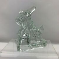 "Boyd Glass JB Scottie Scotty Dog ""Crystal"" (Lot009)"