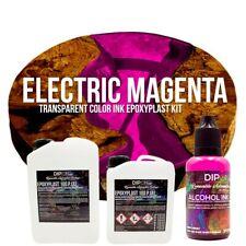Epoxidharz EpoxyPlast 100P ELECTRIC MAGENTA Transparent Farbig Gießharz Epoxy
