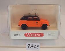Wiking 1/87 No.003901 VW 181 Katastrophenschutz ABC-ZUG München OVP #2724