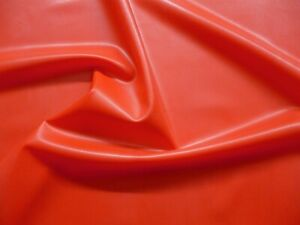 Latex Rubber Sheet, 0.45mm Thick, 2m x 2.5m, 78 x 97 inches,Semi Transparent Red