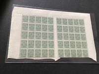 Russia vintage mint never hinged part  Stamps Sheet  Ref 50011