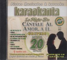 Limite Irene Rivas Jenni Rivera Cantale Al Amor A El Grupero Karaokanta CD New