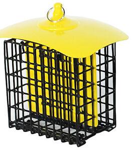 24198 Double-Suet Basket Holder, Metal, Assorted Colors - Quantity 1