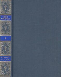 Inni Omerici Letteratura Greca Classici Utet