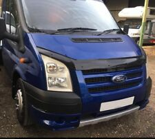 FORD Transit MK7 Bonnet Protector Bug Guard Solid Black 2006-2013