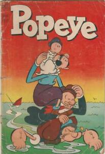 POPEYE Dell Comics  PHILIPPINES reprint by Alemar's