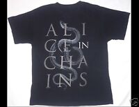 ALICE IN CHAINS Black T-Shirt