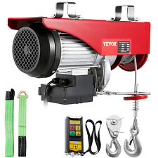 More details for vevor electric hoist electric winch lift 440-2200lbs wireless remote control