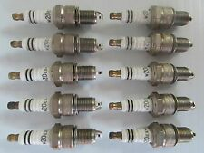 NIPPONDENSO W20EX-U SPARK PLUGS (10) FOR YAMAHA XS1100 XT500 YT125 MORE {A83}