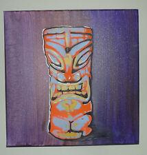 "Tiki Cups ""Aliens"" Original Graffiti Spray Paint Pop  1 of a Kind Ready to Hang"