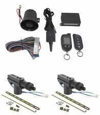 2 Way Car Alarm Security System w/ 2 Door locks Keyless Entry G777