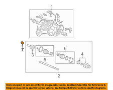 HONDA OEM-Spindle Nut 90305SD4003