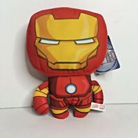 "Marvel Avengers Assemble Iron Man 10"" Plush Stuffed Toy NEW"