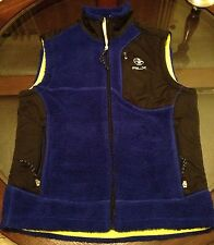 Ralph Lauren RLX Sherpa Vest Blue Size Medium New